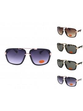 Yaiwe Metal Bridge Fashion Sunglasses, Asst
