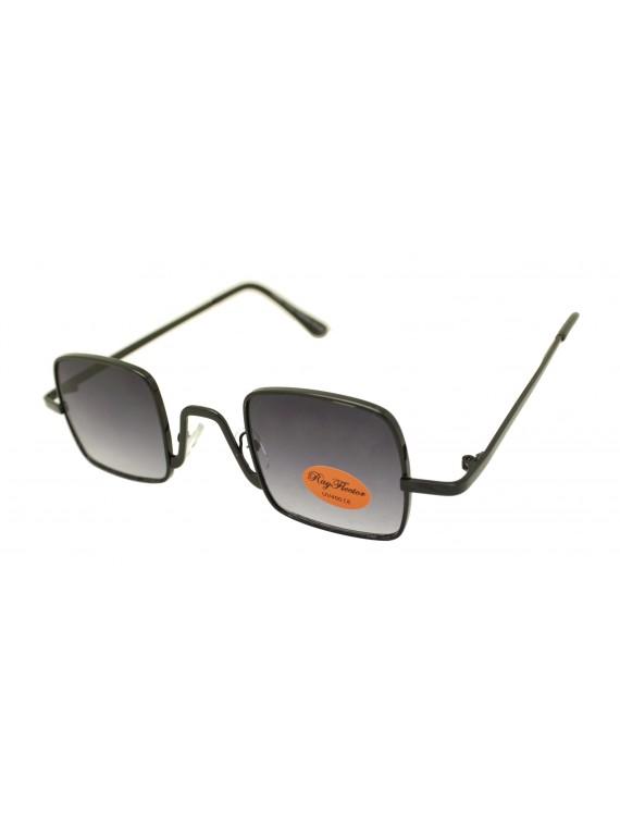 Chev Metal Frame Retro Sunglasses, Asst