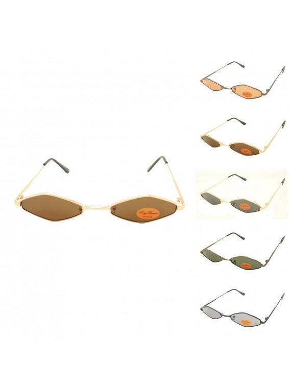 Stah Metal Frame Vintage Sunglasses, Asst