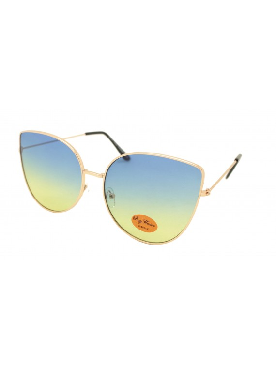Deyt Metal Frame Retro Sunglasses, Asst