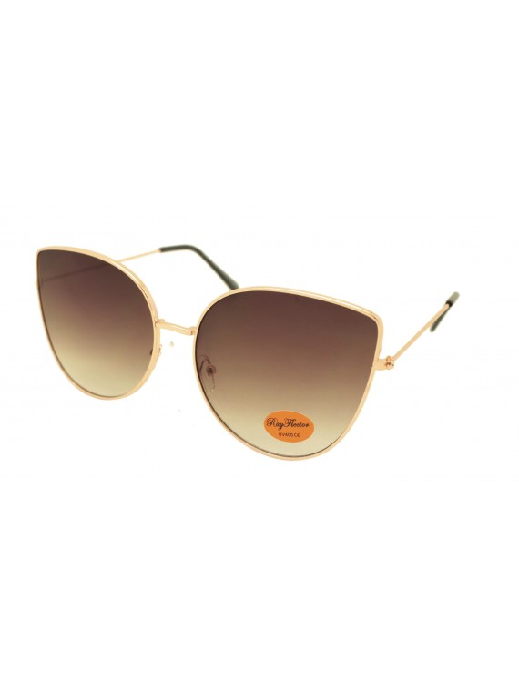 Deyt Metal Frame Retro Sunglasses, Asst