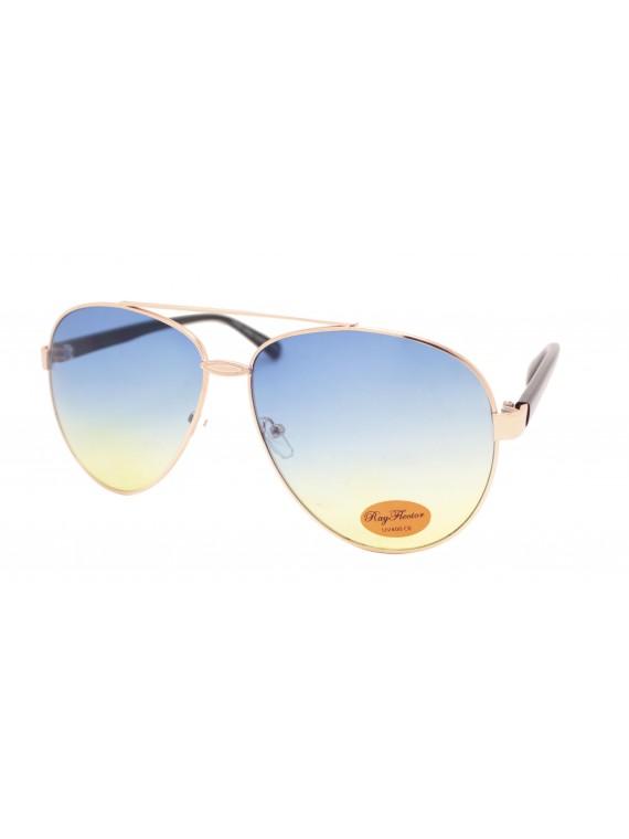 Pontie Metal Frame Retro Sunglasses, Asst