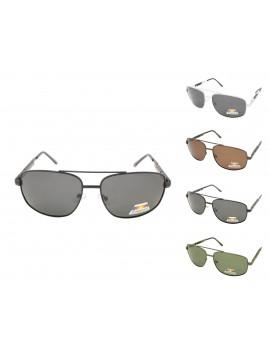 Herby Metal Frame Aviator Sunglasses, Asst