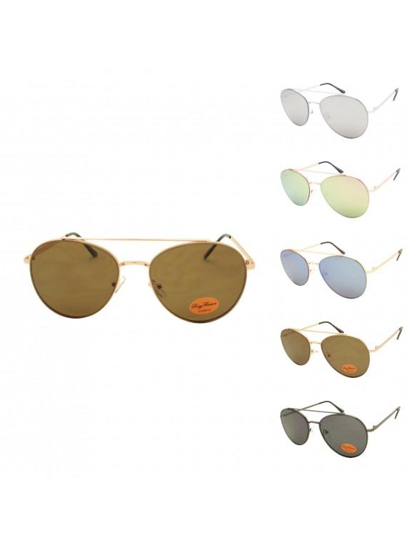 Maffay Metal Frame Aviator Sunglasses, Asst
