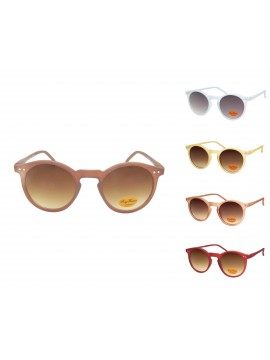 Oroze Round Lens With Metal Spots Vintage Sunglasses, V2 Version