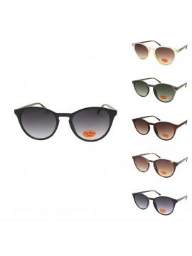 Goie Round Retro Sunglasses, Asst