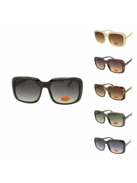 Etia Square Shape Fashion Sunglasses, Asst