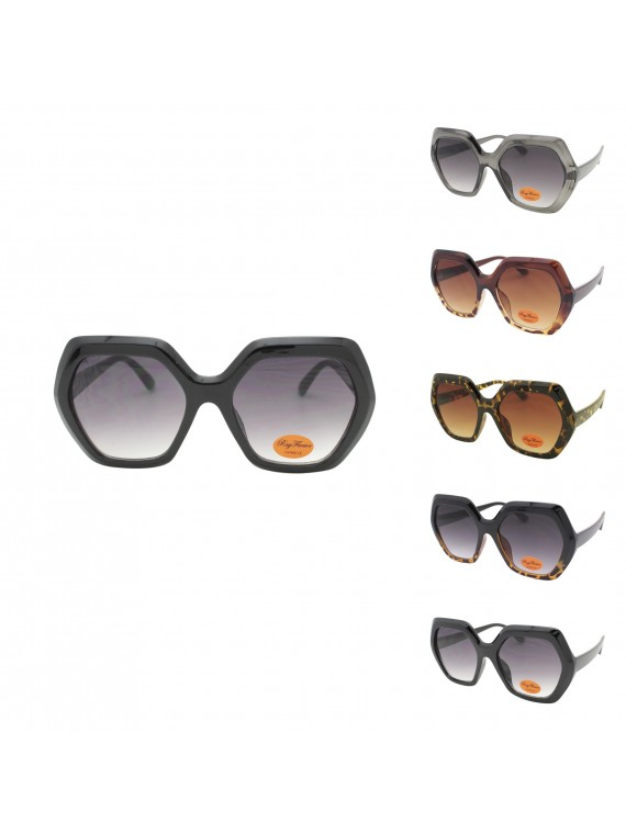 Sandra Oversized Fashion Sunglasses, Asst