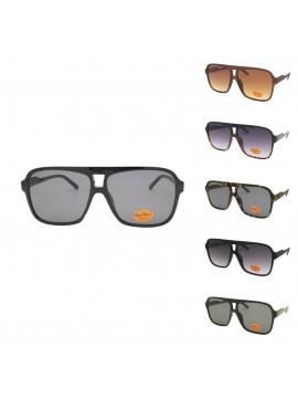 Marlen Flat Top Fashion Sunglasses, Asst