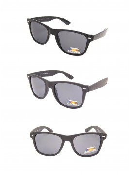 Erola Wayfarer Style Sunglasses, Polarized Asst