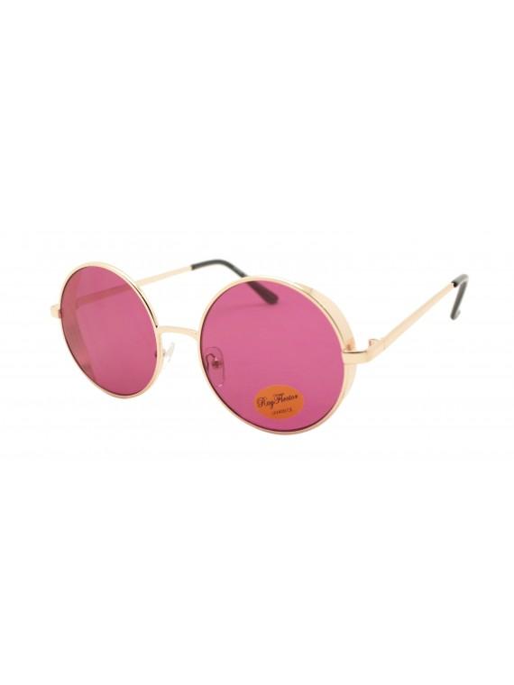Ferie Retro Round Sunglasses, Asst