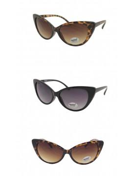 New York Retro Style Sunglasses HH1070, Asst