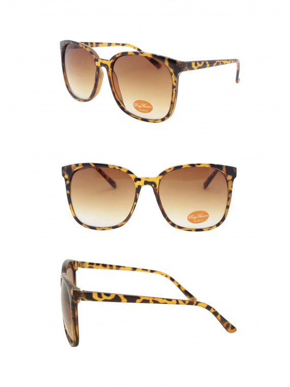 Arcos Vintage Remade Sunglasses, Light Tortoiseshell Brown