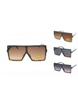 Gebo Oversized Square Fashion Sunglasses, Asst
