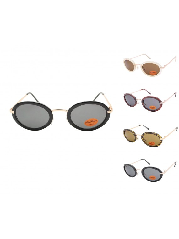 Mers Retro Sunglasses, Asst
