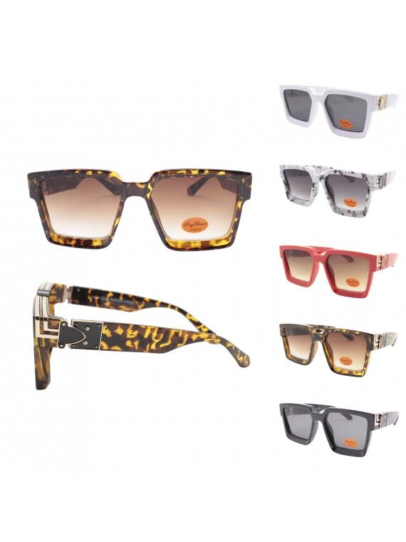 Ladie Square Top Fashion Sunglasses, Asst