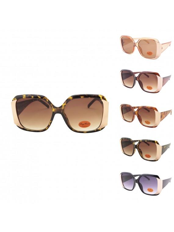Floki Oversized Fashion Sunglasses, Asst