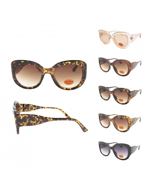 Leah Fashion Sunglasses, Asst