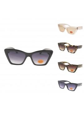 Sunsie Retro Cat Eye Sunglasses, Asst