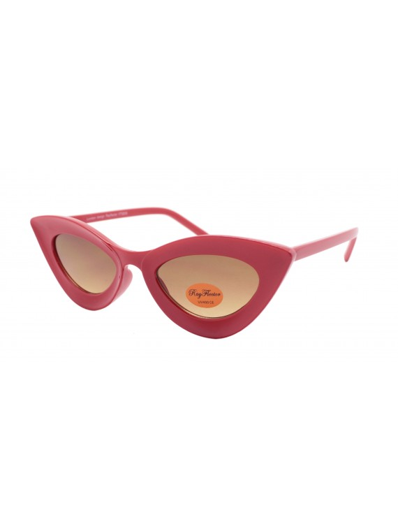 Celia Retro Cat Eye Sunglasses, Asst