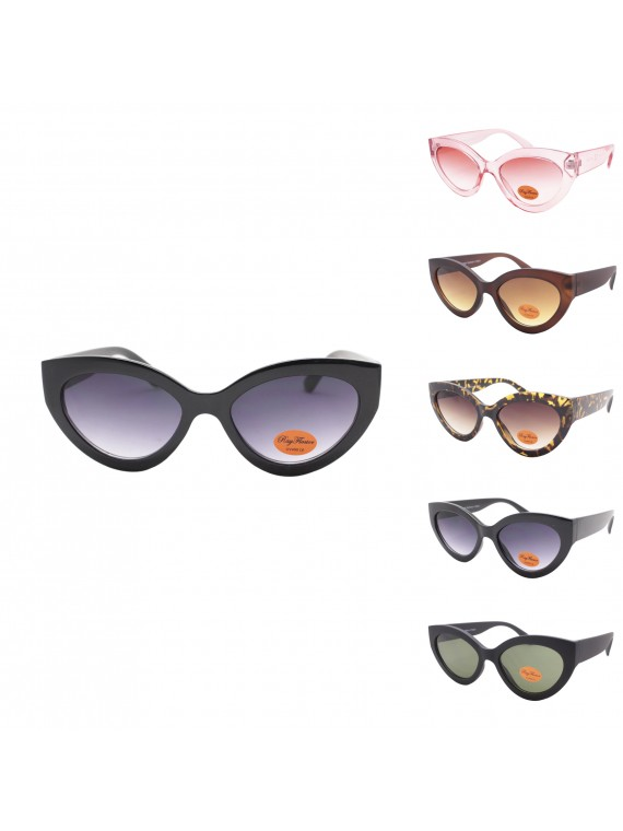 Broe Retro Cat Eye Sunglasses, Asst