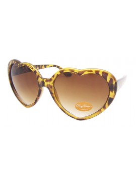 Heart Sunglasses, Tortoise Shell