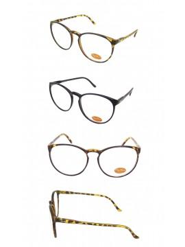 Cetro Celebrities Sunglasses, 2 Colors Clear lens Asst