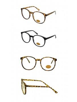 Ager Clear Lens Sunglasses, Black And Tortoise Shell Asst