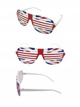 Shutter Shade Union Jack Sunglasses