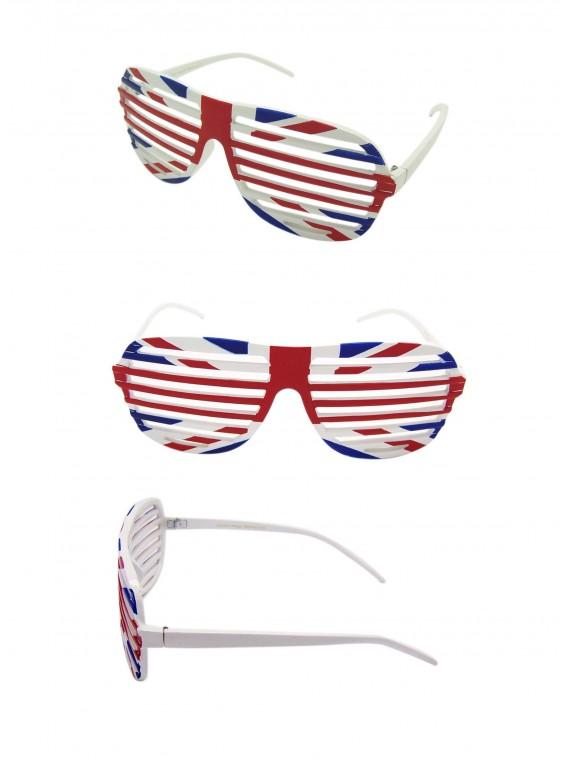 Shutter Shade Union Jack Sunglasses