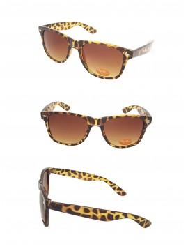 Medium Size Wayfarer Style Sunglasses, Tortoise Shell(Brown Gradient Lens)