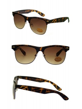 Classic Clubmaster Sunglasses, Dark Tortoise Shell(Darker Colour)