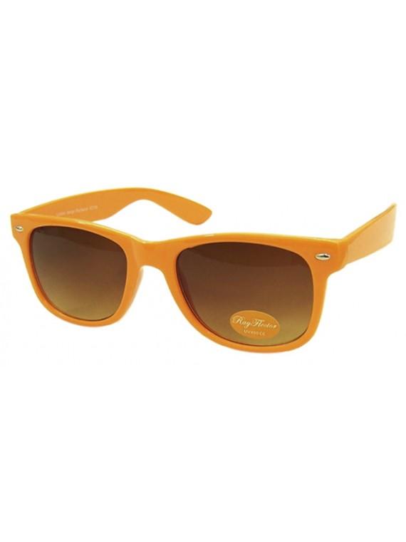 Classic Modern Wayfarer Style, Neon Orange