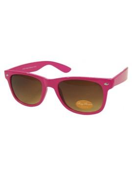 Classice Modern Wayfarer Sunglasses, Rose Pink