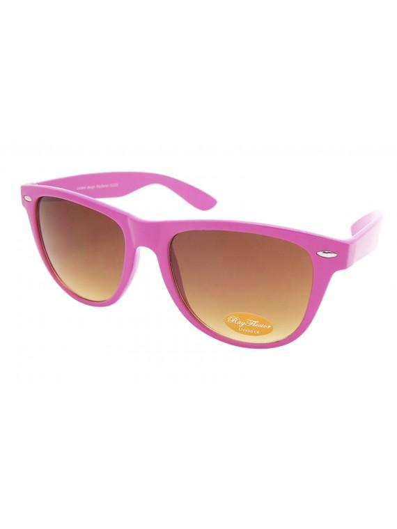 Classic Wayfarer Sunglasses, Baby Pink  - Bigger Size
