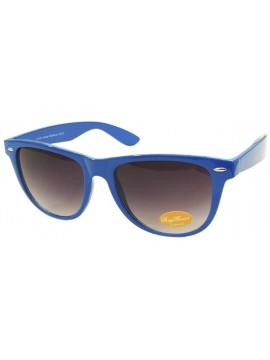 Classic Wayfarer Sunglasses, Navy Blue - Bigger Size
