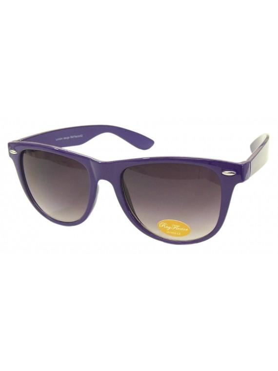 Classic Wayfarer Sunglasses, Purple - Bigger Size