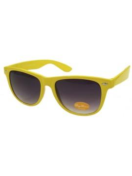 Classic Wayfarer Sunglasses, Yellow - Bigger Size