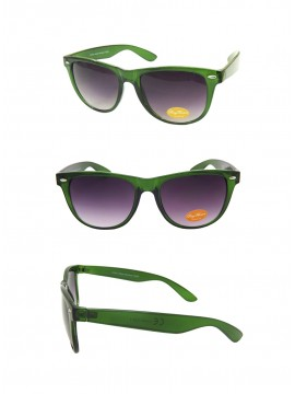 Classsic Wayfarer Sunglasses, Trans Green