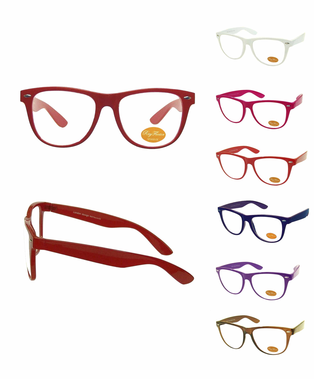 5d866888738 Classic Colorful Frame Wayfarer Style Sunglasses